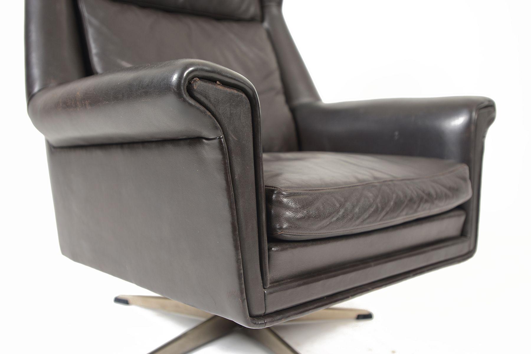 Sessel Leder Rot Lounge Sessel Modernen Accent Stuhle Fur