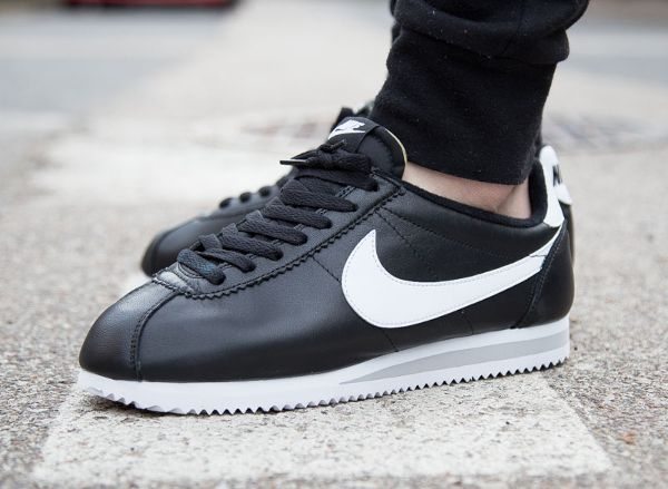 Nike Cortez Leather PRM Black/White QS post image