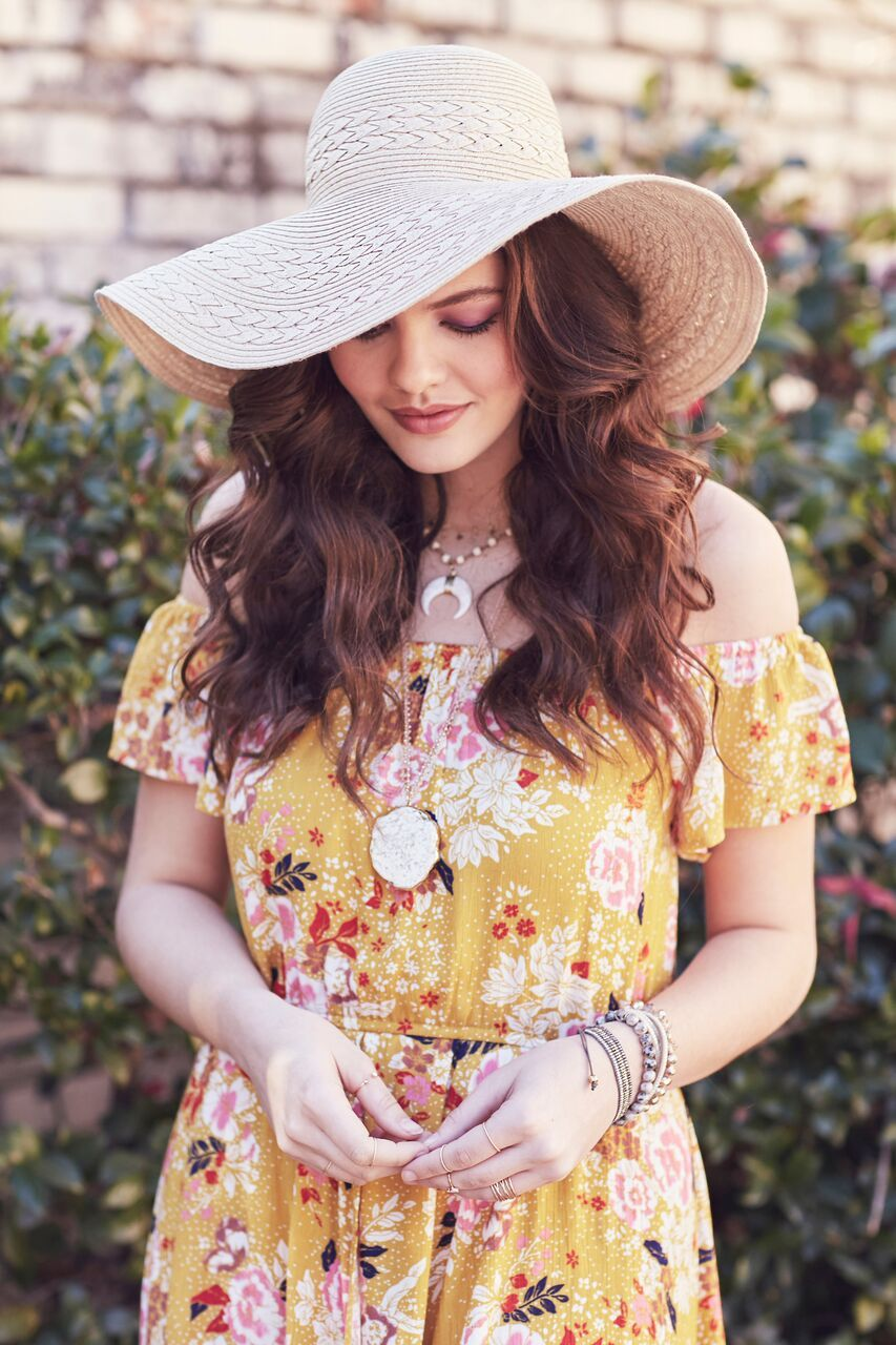 84207aa771497 Every sundress needs a sun hat! Shop with our newest line