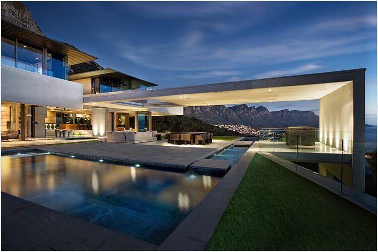 100 Likes 1 Comments Luxurious Modern Houses Luxuriousmodernhouses On Instagram Dream House Exterior House Architecture Design Modern House Design