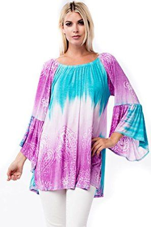 2868fd2161ca01 Allora Women s Plus Size Soft Knit Tunic Top at Amazon Women s Clothing  store