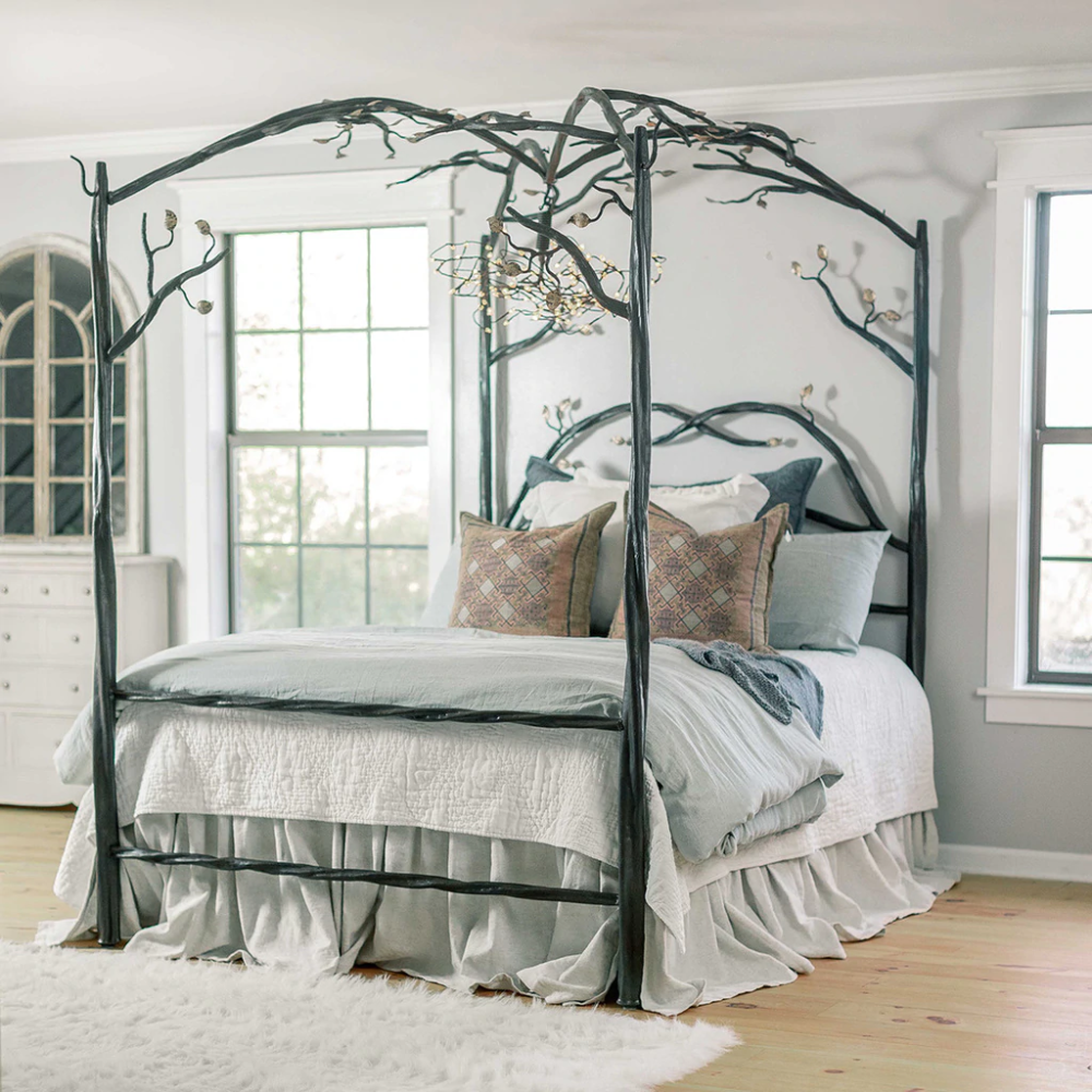Free Standing Canopy Bed Frame In 2020