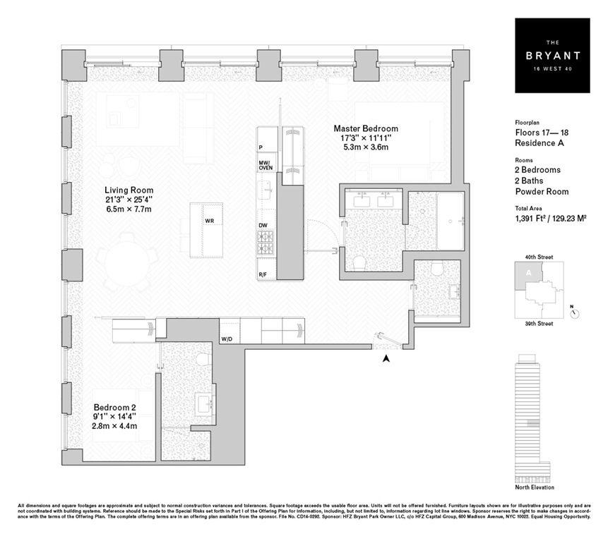 Arrow Ridge Apartments: See Floorplans For David Chipperfield's Bryant Park Condos