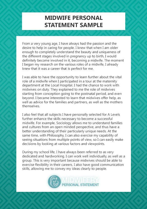 Http Www Midwiferypersonalstatement Com Best Midwifery Personal Statement Example Opening Line Of