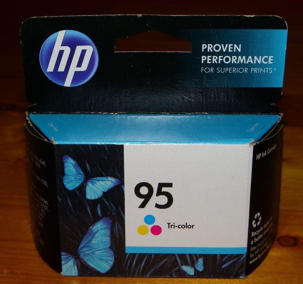 Genuine HP 95 TriColor Ink 4 Pack Mar 2016 Deskjet