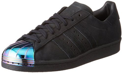 adidas superstar 80's metal toe damen sneaker grau