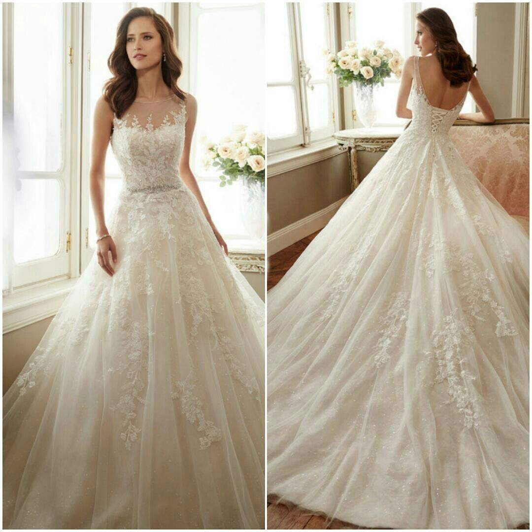 Informal wedding dresses for second marriage  Wedding dress by Sophia Tolli  Style  Y Monte  wedding