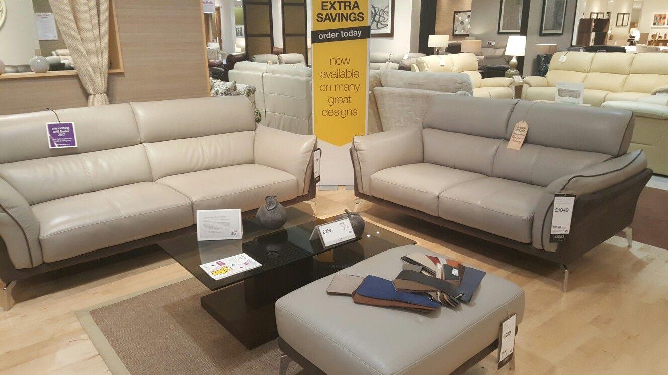Valdez Grey Leather Sofa Dfs Grey Leather Sofa Leather