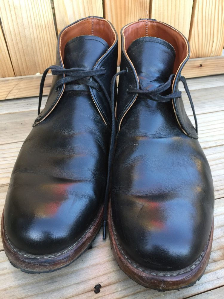 60a1bfe68528c Red Wing Heritage Beckman Chukka Boot 13D Black Featherstone Leather ...