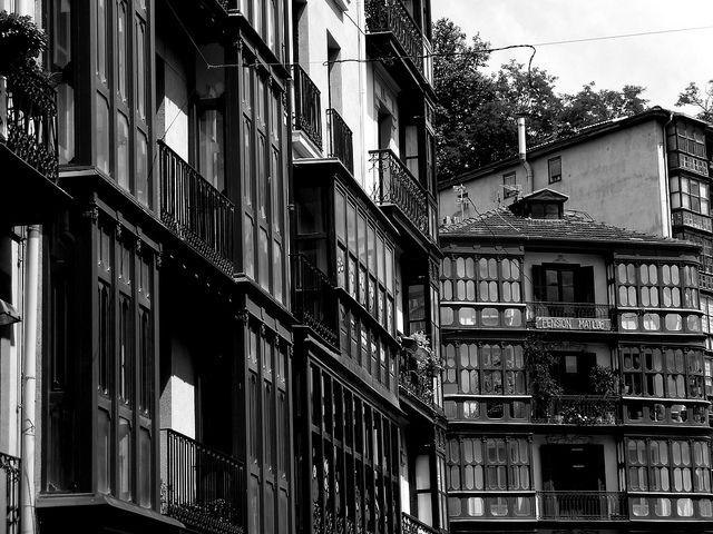 Que frio !! Casco viejo -Bilbao