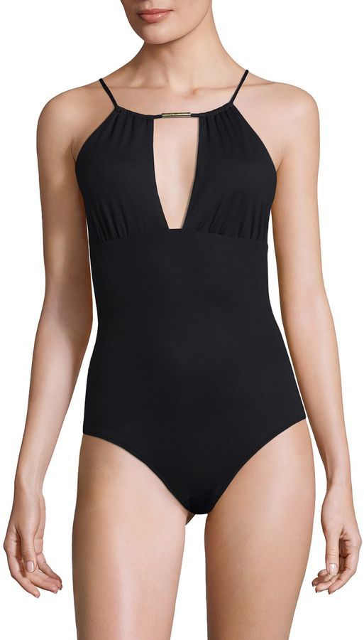 Melissa Odabash Women\'s Phuket Halter One Piece Swimsuit