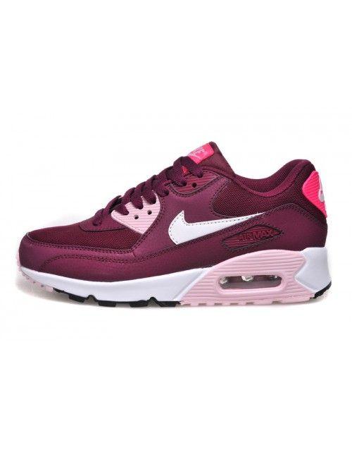 conseguir baratas venta de bajo precio talla 7 Nike Women Air Max Burgundy Sneaker 690A | Nike air max