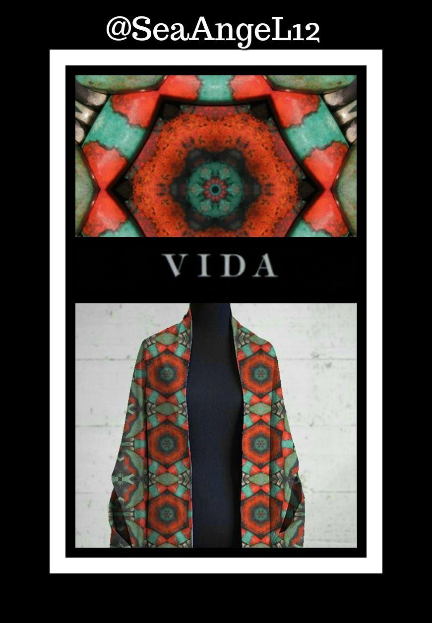 Enveloppement Multi-usure - Mandala De Chakra De La Couronne Par Vida Vida VB6JG0X