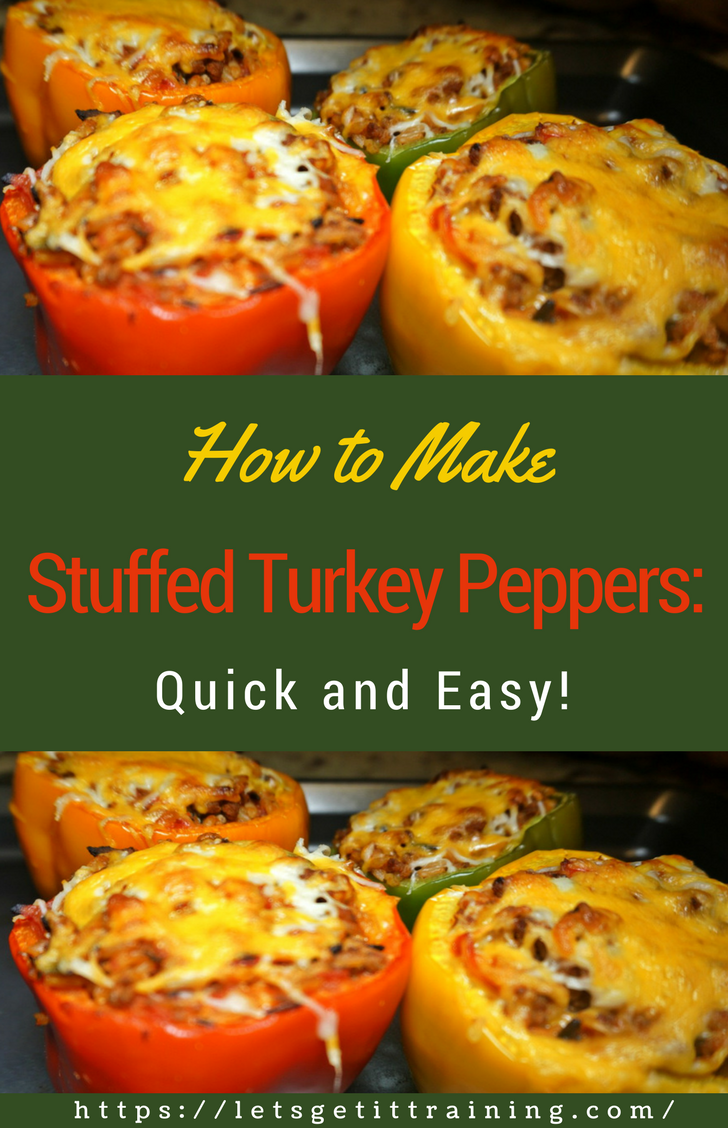 How To Make Stuffed Turkey Peppers Quick And Easy Not Only Is There Hardly Any Preparat In 2020 Stuffed Peppers Stuffed Peppers Turkey Stuffed Bell Peppers Turkey