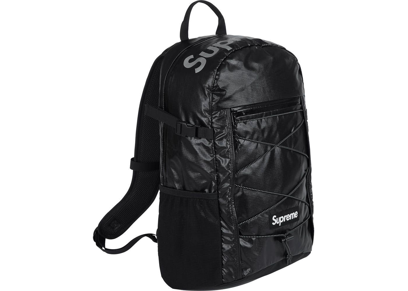b48354de Supreme FW17 Backpack Black in 2019 | supreme | Supreme backpack ...