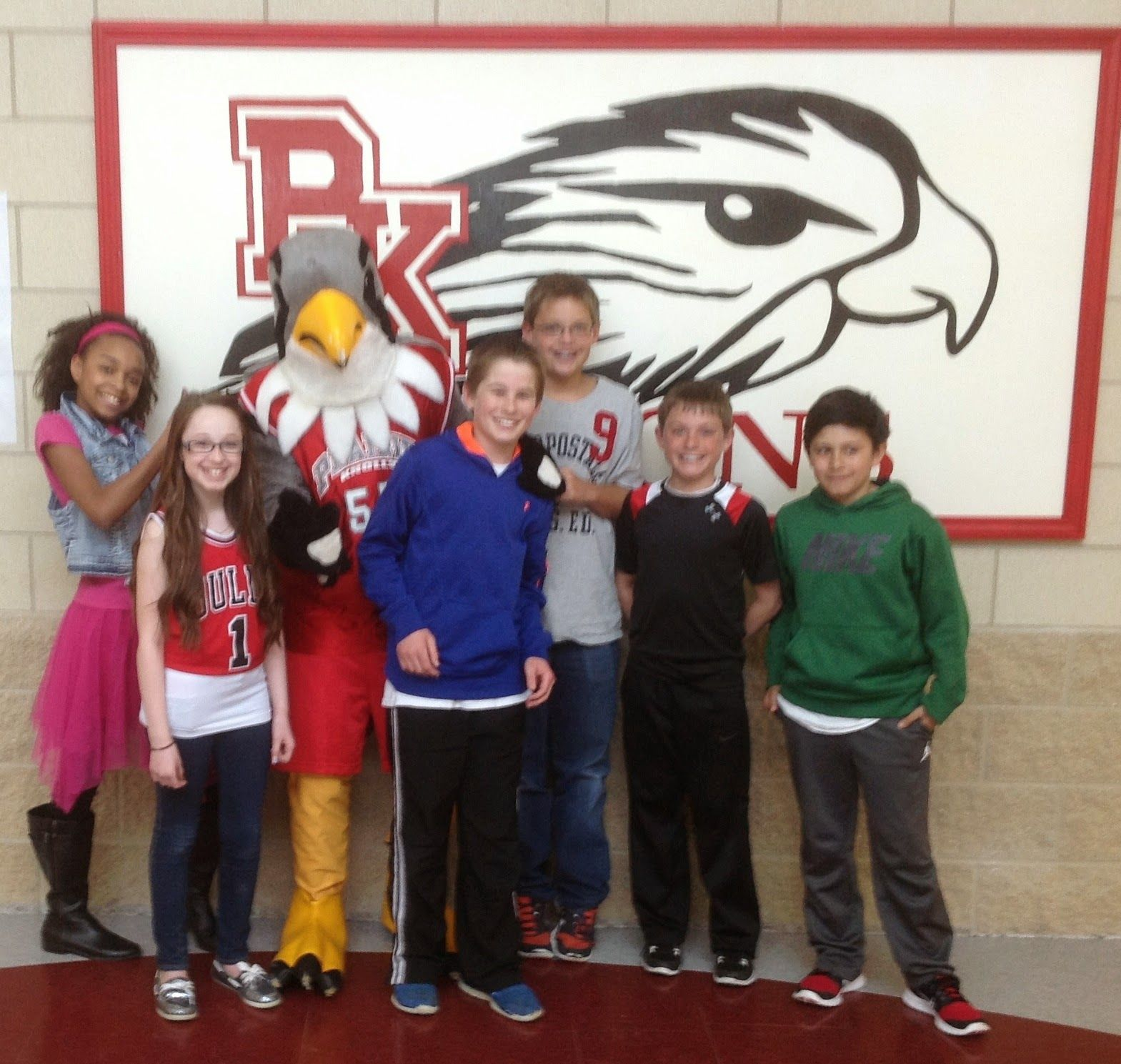 Central 301 fifth graders glimpse middle school life