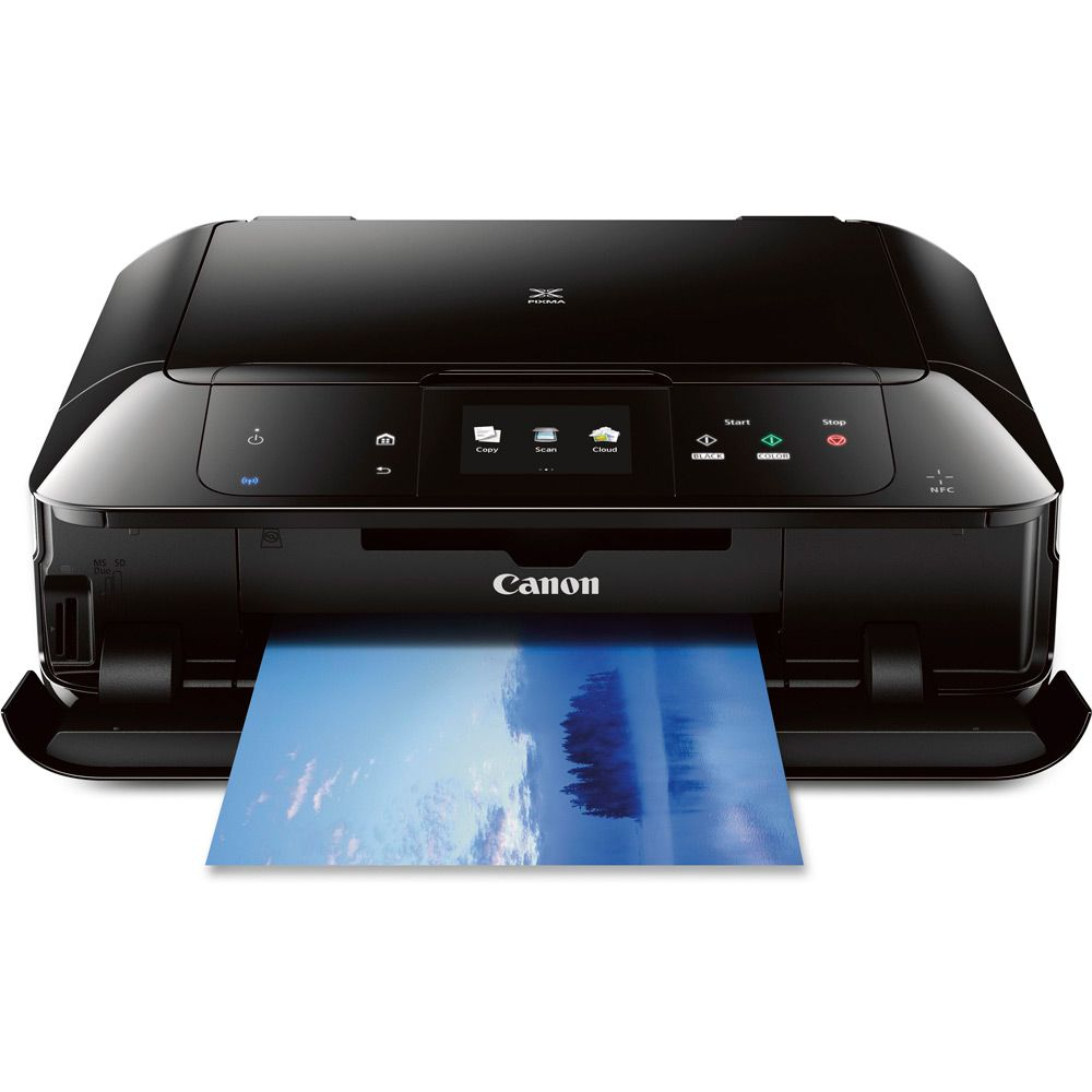 Pixma Mg7520 Black Wireless Color All In One Inkjet Multifunction Canon G3000 Wi Fi Printer