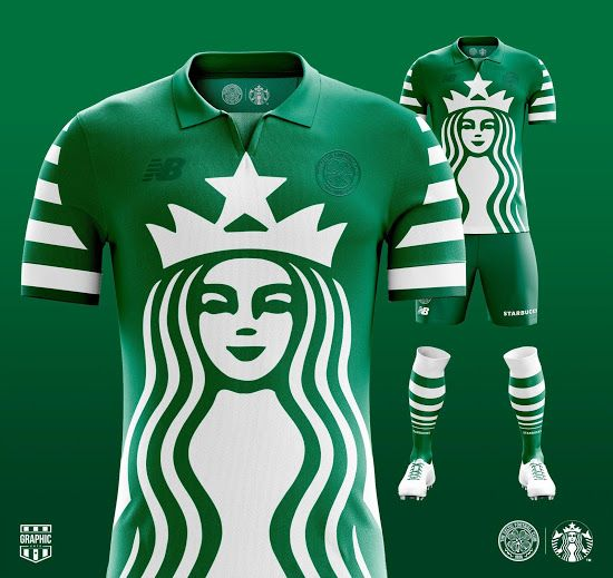 More Insane Sponsor Football Kit Concepts By Graphic Untd Footy Headlines In 2020 Football Kits Soccer Tshirts Football Shirts