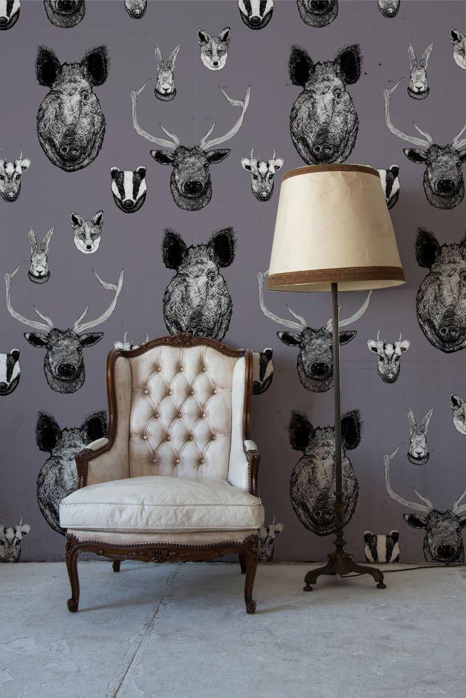 Photo of Vestige Wallpaper Grey