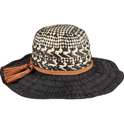 70943491ac0 Women s San Diego Hat Company Mixed Paper Crown Ribbon Sun Brim Hat ...