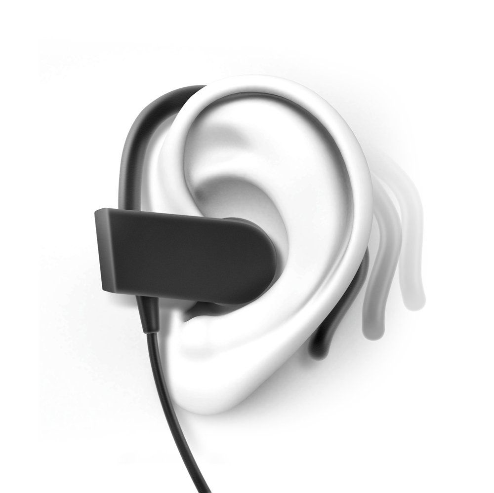 7bc879da7e1 Amazon.com: Photive PH-BTE70 Wireless Bluetooth Earbuds. Sweatproof Secure  Fit Wireless Headphones Designed to Stay in your Ears: Electronics
