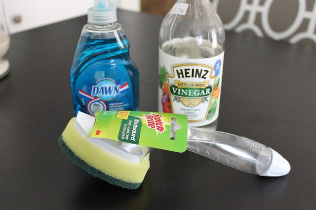 Homemade Cleaner With Vinegar And Dawn Soap Diydry Co