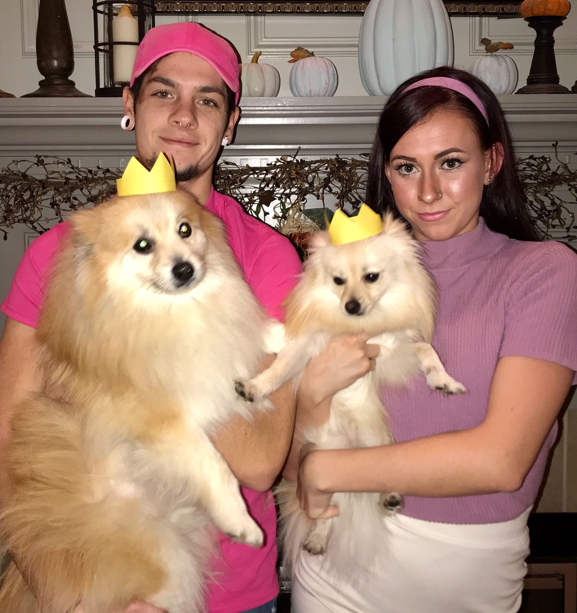 Timmy Turner Trixie Tang Fairly Odd Parents Halloween Couple Costume Dog Costume Couple Halloween Costumes Couple Halloween Halloween Coustumes