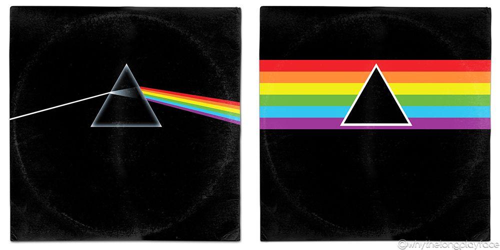 Pink Floyd Dark Side Of The Moon Redux Vinyl Mash Up Parody By