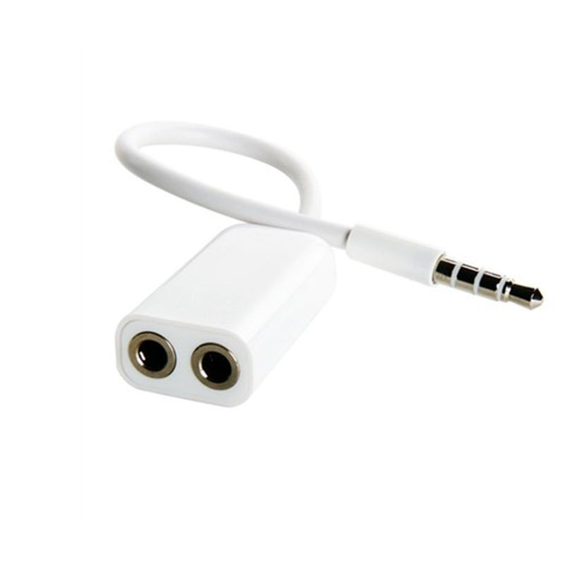 1 Male To 2 Female 3 5 Jack Aux Audio Cable Headphone Splitter For Apple Iphone 4 5 5s 6 6s 7 Plus Ipad Ipod Laptop Mp3 Iphone Cable Headphone Splitter Iphone