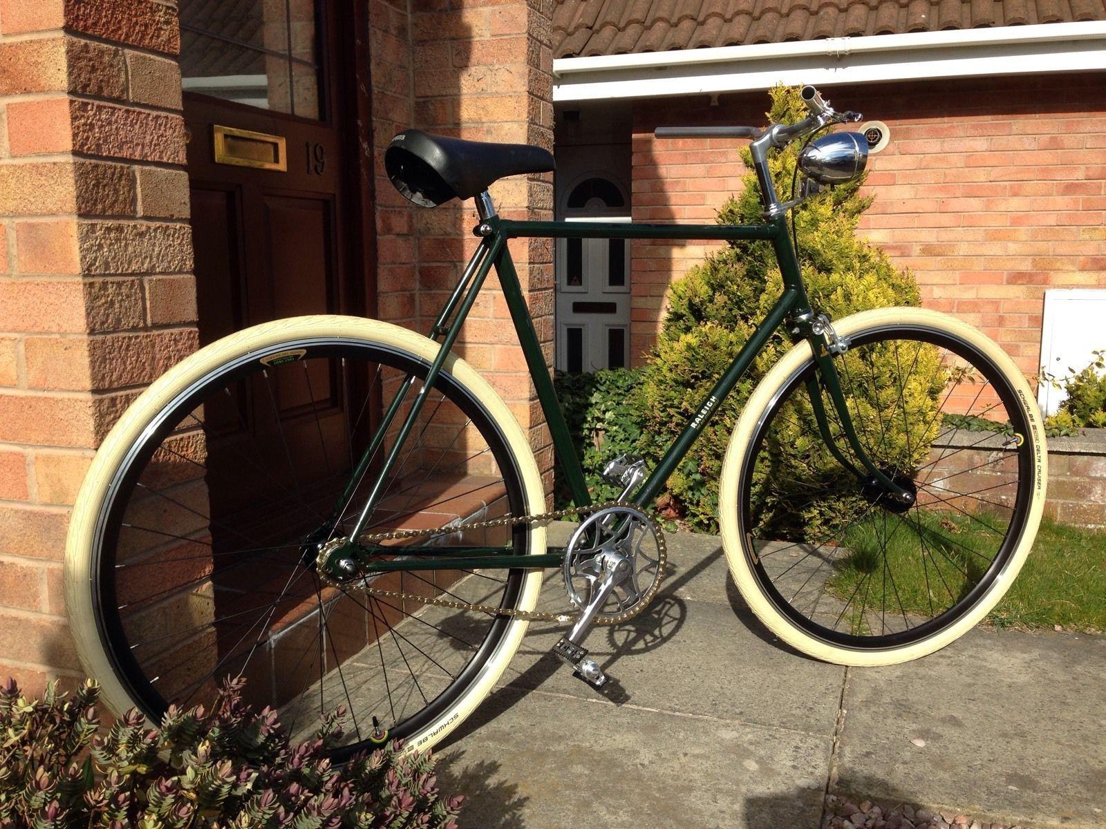 Vintage Raleigh The All Steel Bicycle Fixie Singlespeed Retro Bike New Parts Steel Bicycle Bicycle Retro Bike