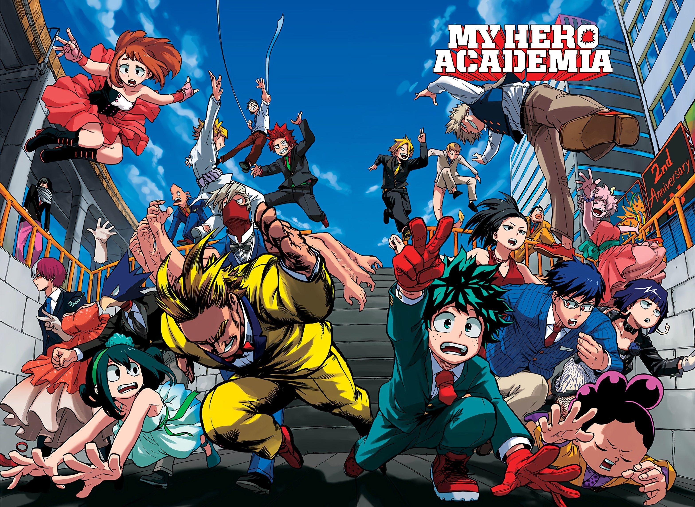 My Hero Academia Season 4 Reveal Date My hero, My hero