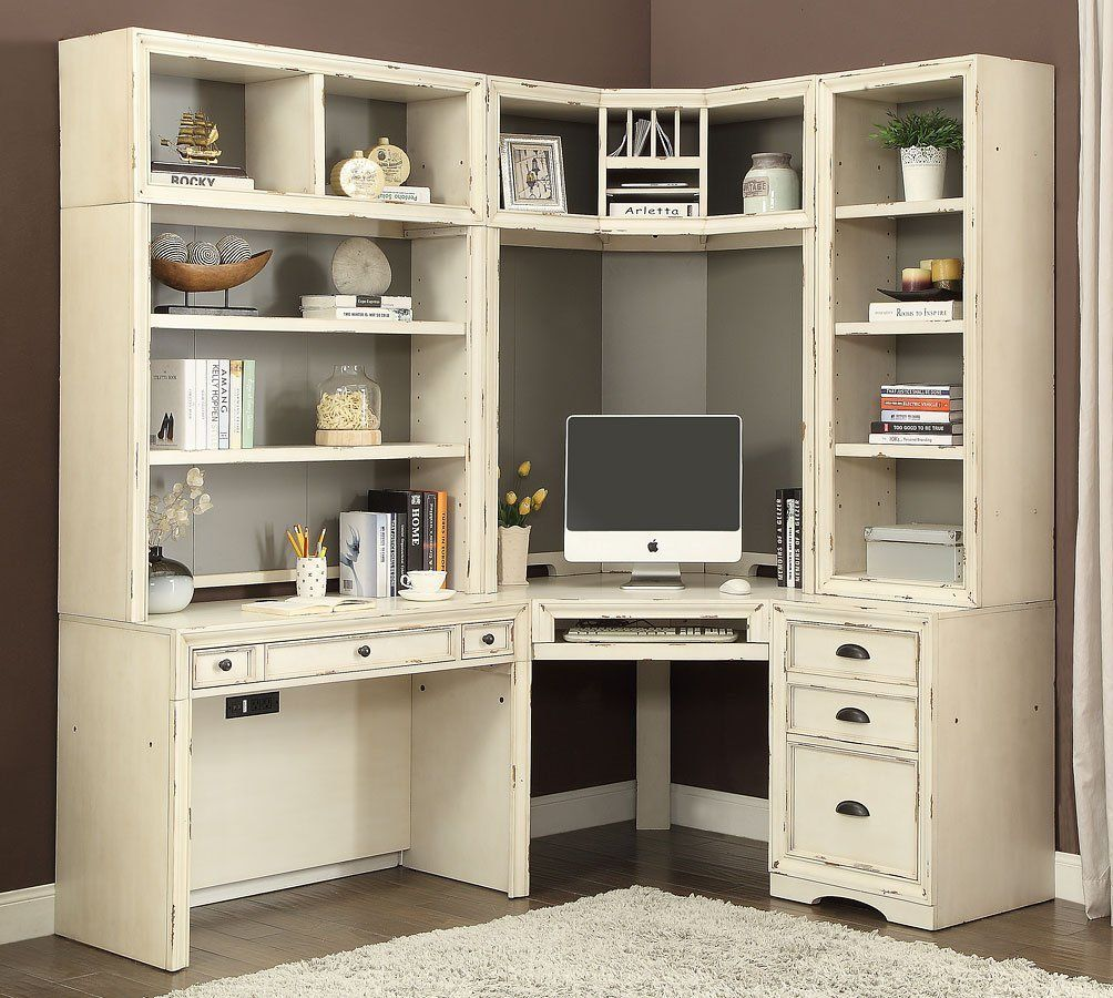 Nantucket Modular Corner Desk Wall Home Office Design Modular