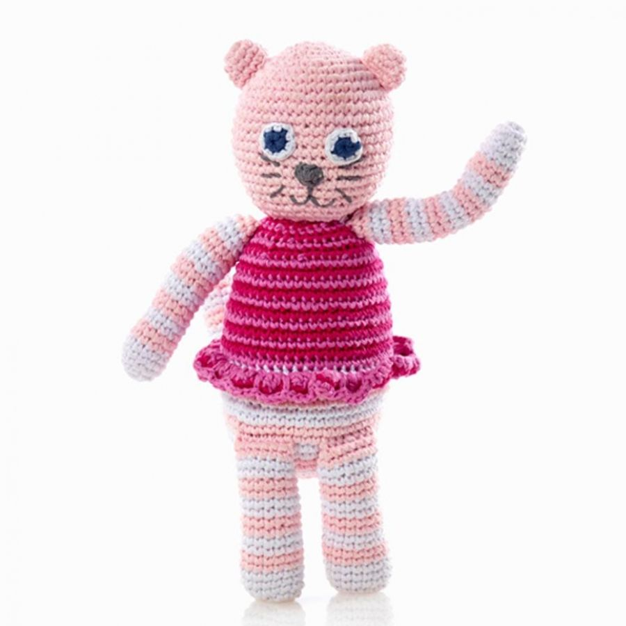 Cat rattle unique baby girl gifts newborn baby girl