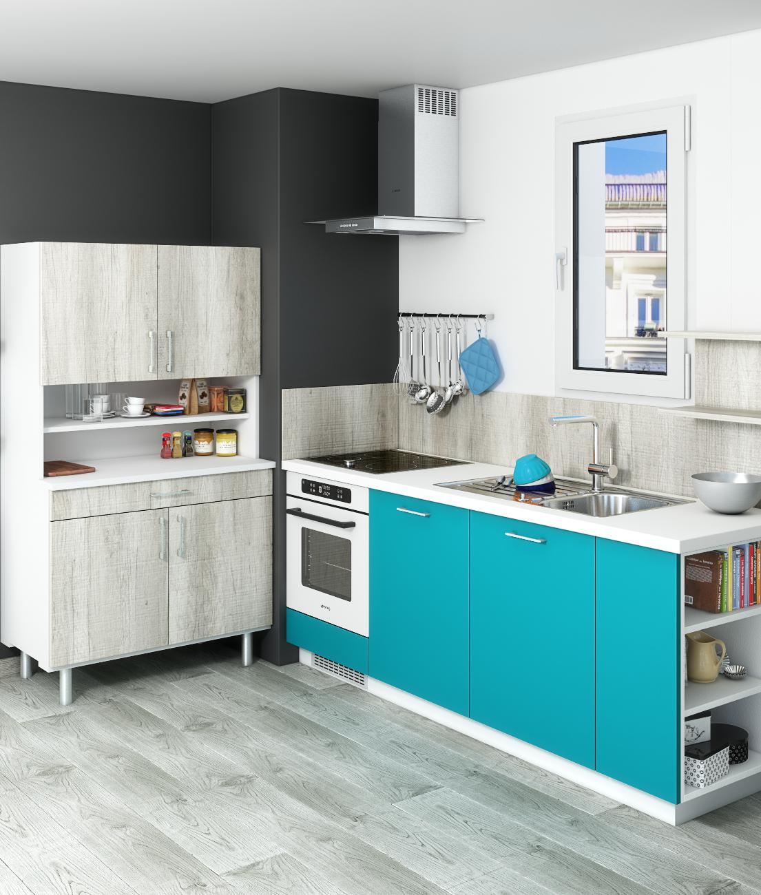 manque de place dans votre cuisine pourquoi pas ajouter un buffet astuces et id es d. Black Bedroom Furniture Sets. Home Design Ideas