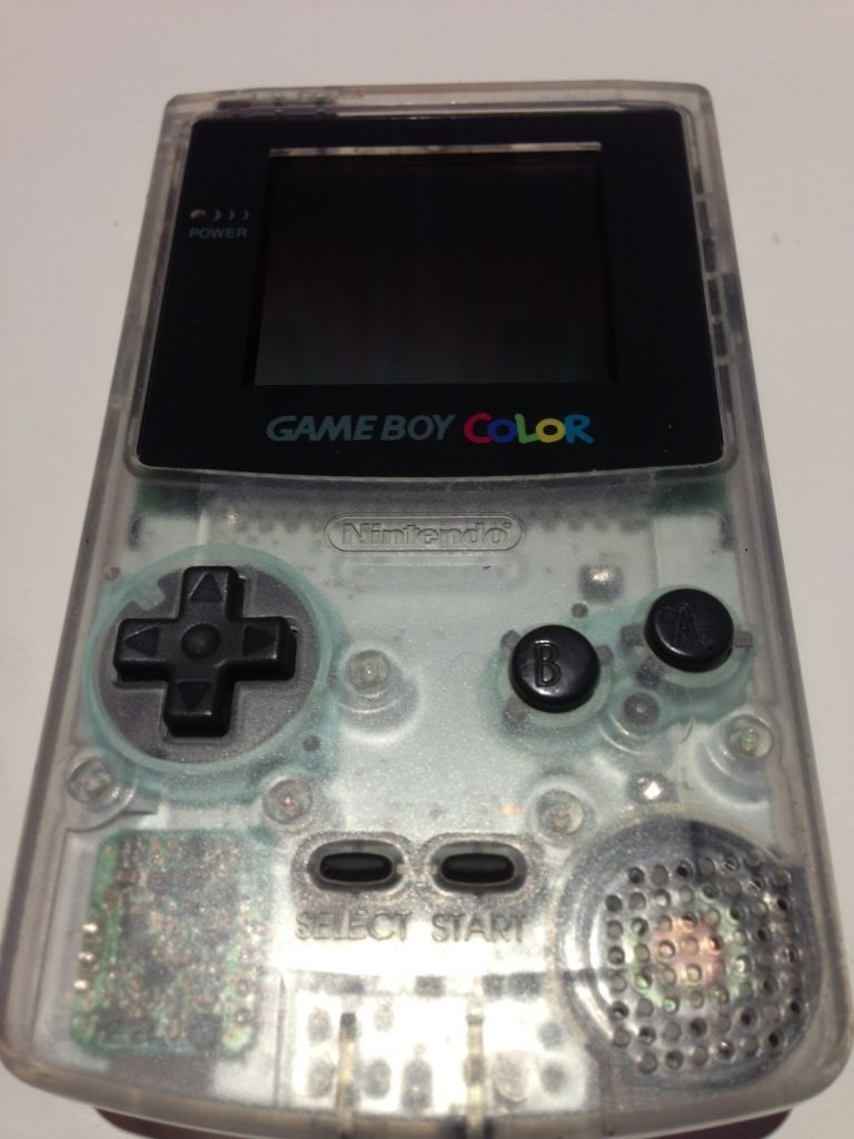 Gameboy color and advance rpg games - Console Gameboy Color Neotones Ice Transparent Clear 1998