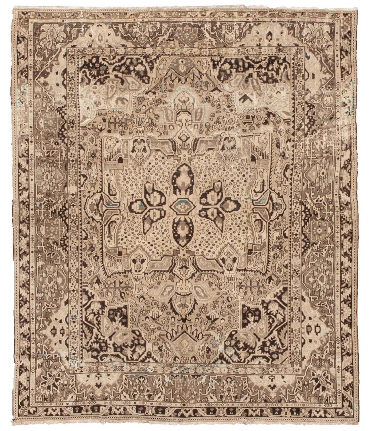 Hamadan persian carpets number 14077 antique persian rugs for Tapiz persa
