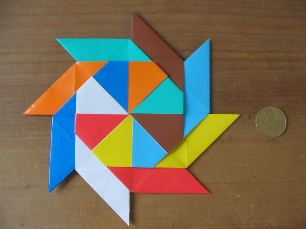 Estrella Ninja De 8 Puntas Origami Origami Diy Art