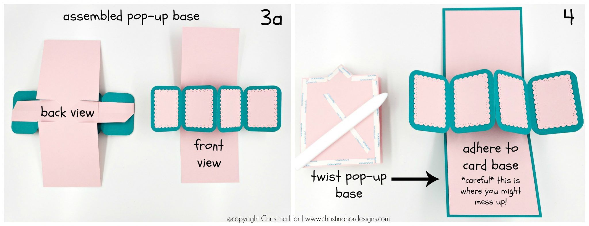 How To Make A Twist Pop Up Birthday Card Christina Hor Designs Tarjetas De Feliz Cumpleanos Tarjetas Tarjetas De Cumpleanos