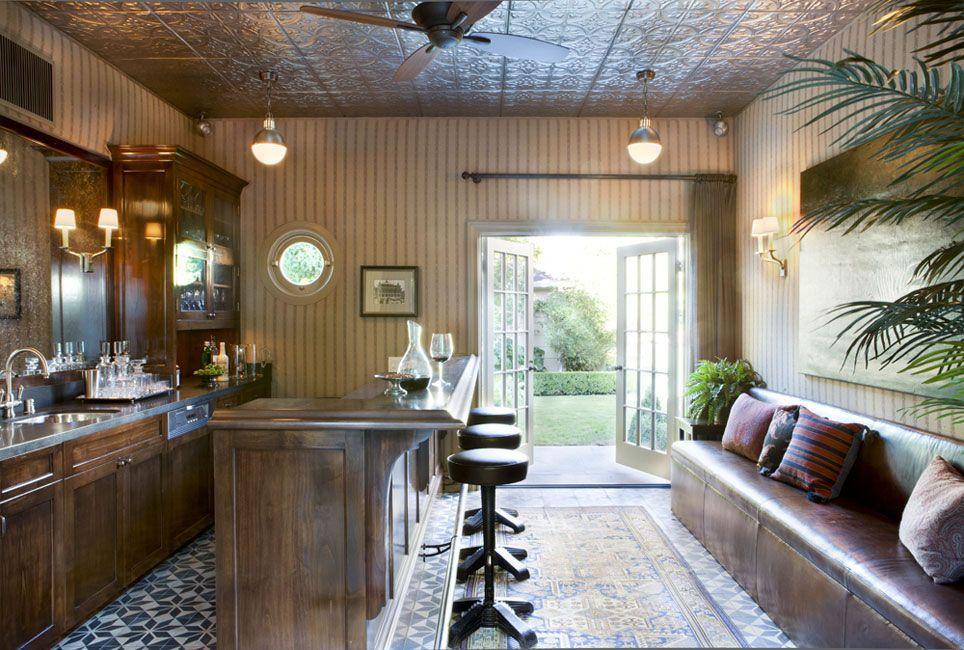 Turn Your S into a Mini Backyard Bar | Pinterest | Pool houses ...