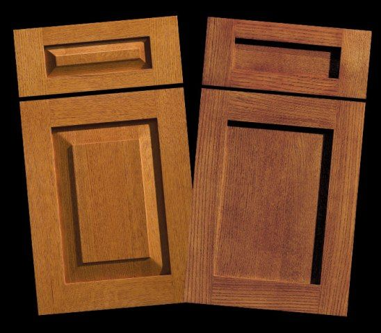 Mission Style Kitchen Cabinet Doors: Mixing Up Door Styles (part 1)
