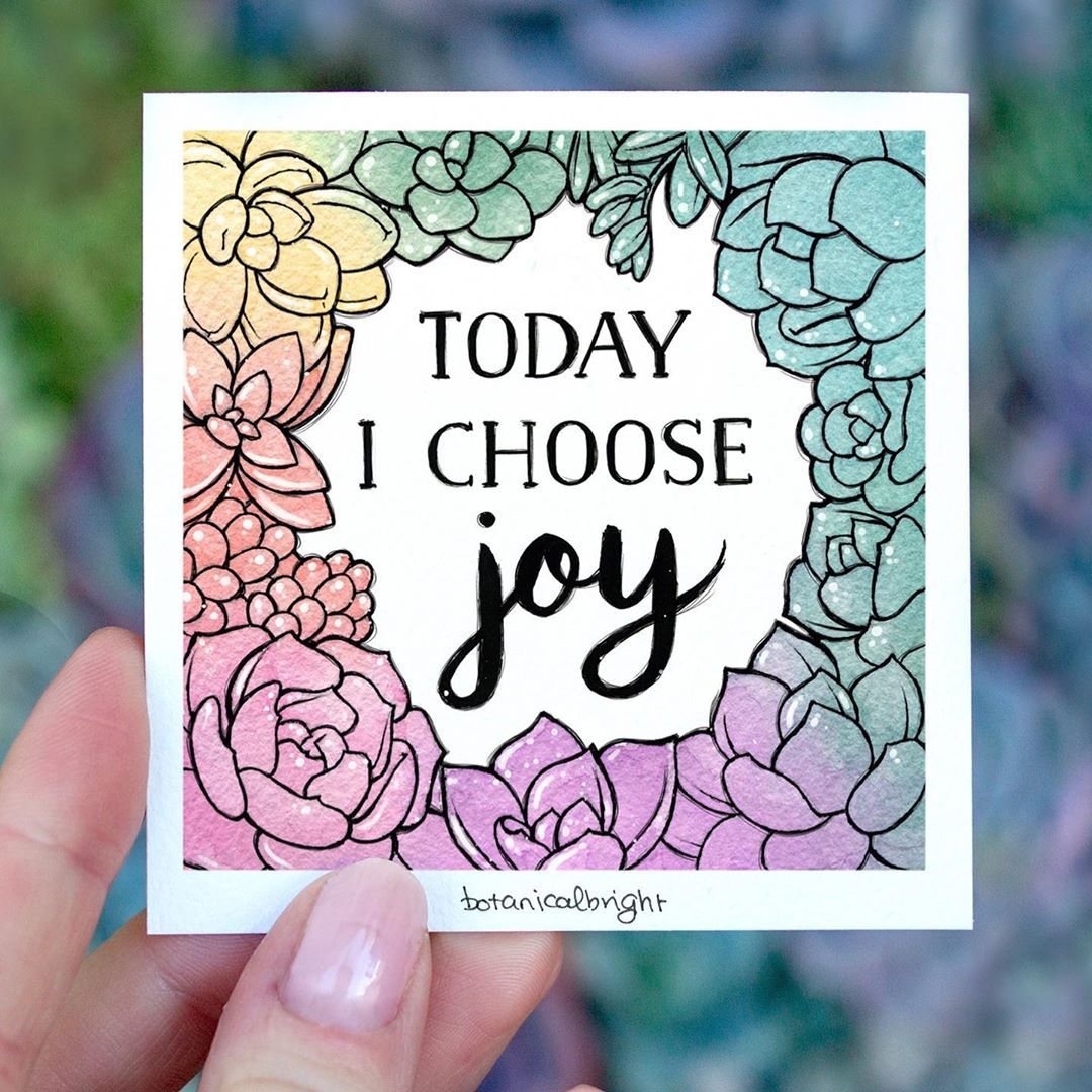 A Lil Reminder To Choose To Find Joy In The Little Things