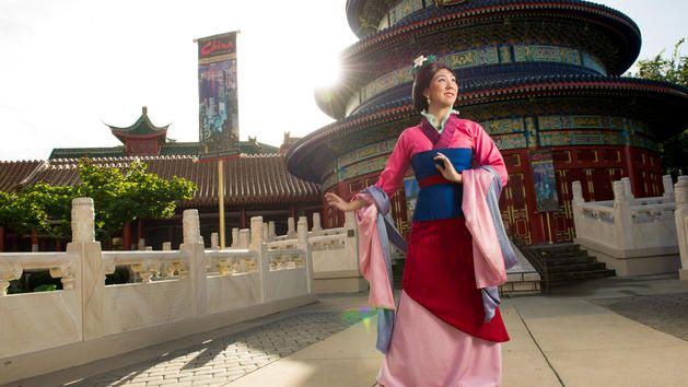 Mulan at Walt Disney World
