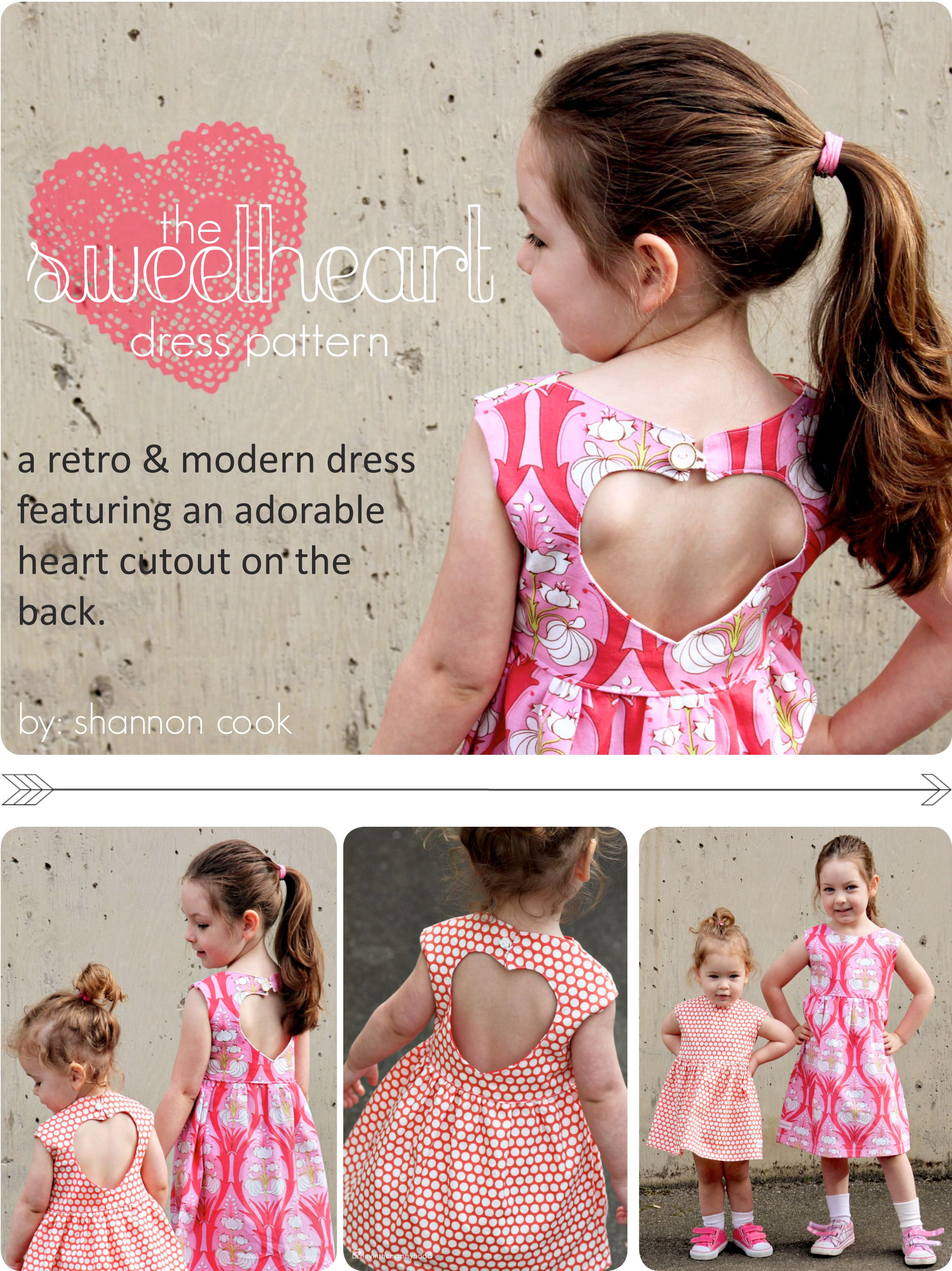 Tutorial tuesday sweetheart bubble dress pattern remix from you dress patterns jeuxipadfo Choice Image