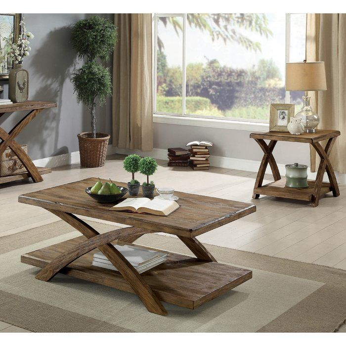 Best Jaylon 3 Piece Coffee Table Set Coffee End Tables 3 400 x 300