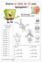 Tables De Multiplication Exercices à Imprimer Gratuit