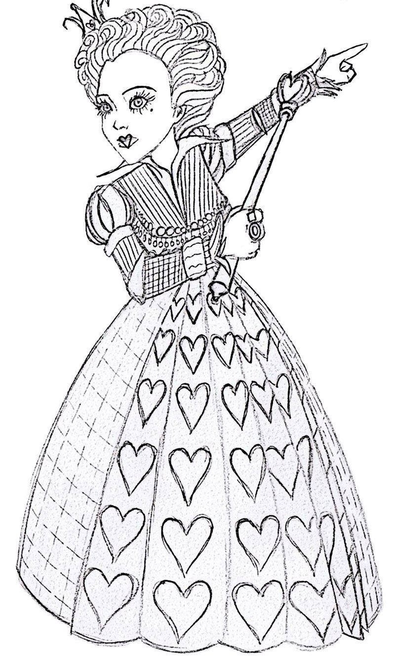 Free Printable Alice in Wonderland Coloring Pages http ...