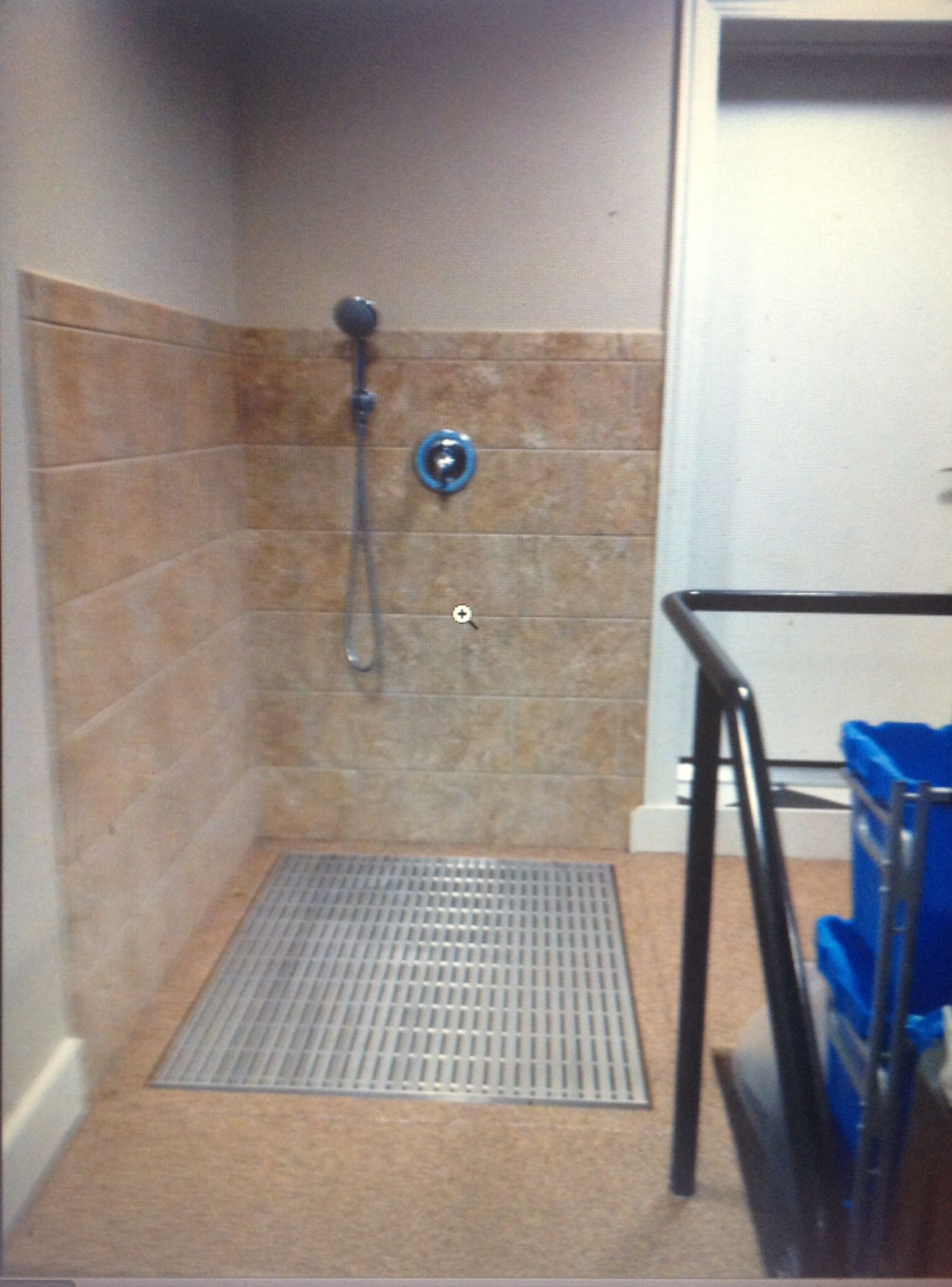 Dog shower in garage Home Plans Pinterest