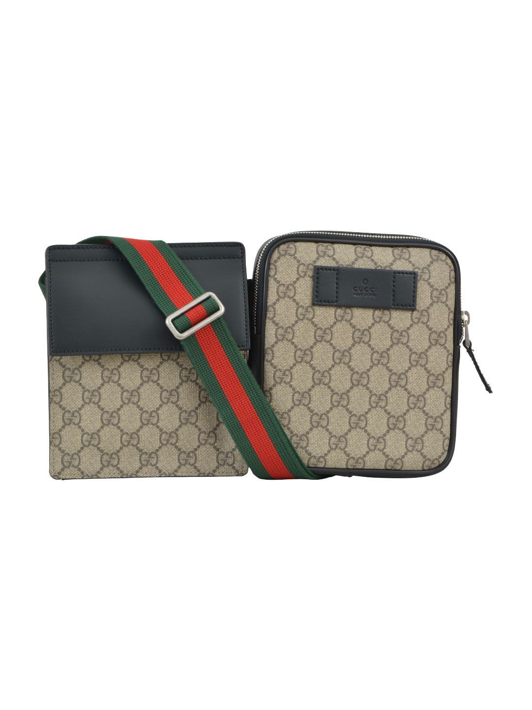 7ed5a1ae79998d GUCCI GG SUPREME BUMBAG. #gucci #bags #leather #lining #accessories  #shoulder bags #nylon #pouch #