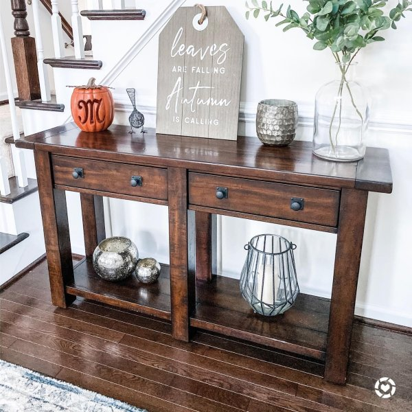 Benchwright 54 Console Table Wood Console Table Console Table Pottery Barn Decor