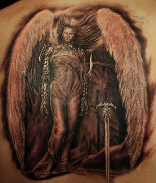 Anioł Tatuaż Anioły Wzorytatuaży Tattoo Gallery